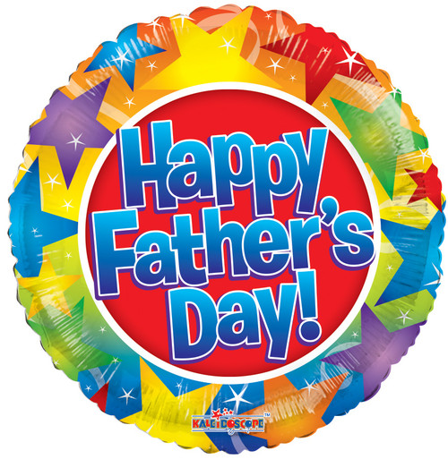 """18"""" Happy Father's Day Stars"""