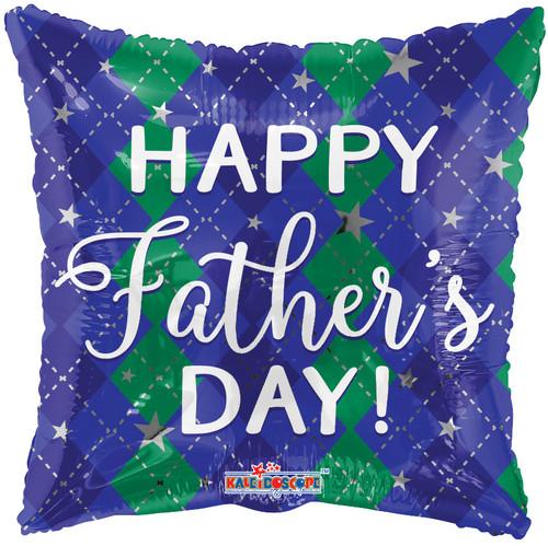 "18"" Father's Day Diamond Pattern"