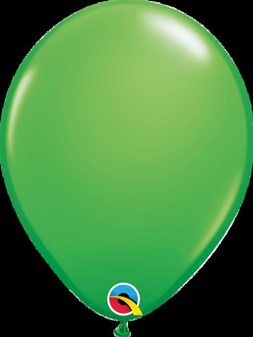 "11"" Qualatex Spring Green - 100 Ct."
