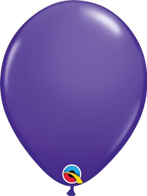 "11"" Qualatex Purple Violet - 100 Ct."