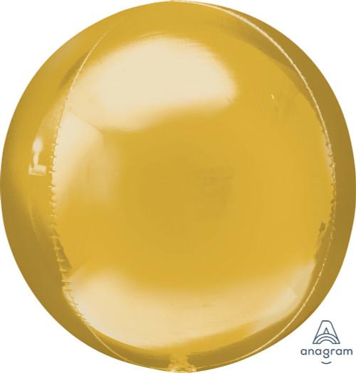 "16"" Gold Orbz - 3 ct"