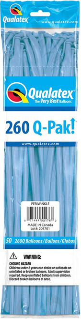 260Q Qualatex QPAK Periwinkle - 50 Ct.