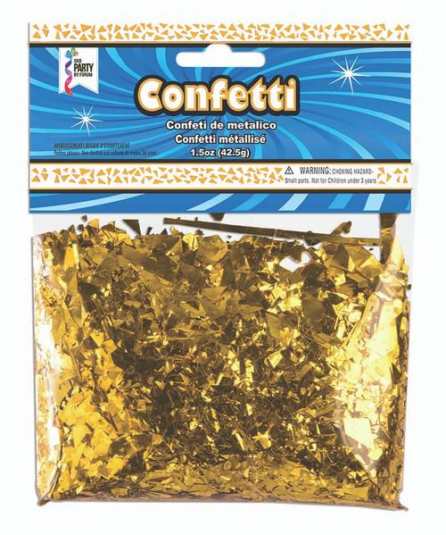 1.5 oz Gold Foil Confetti