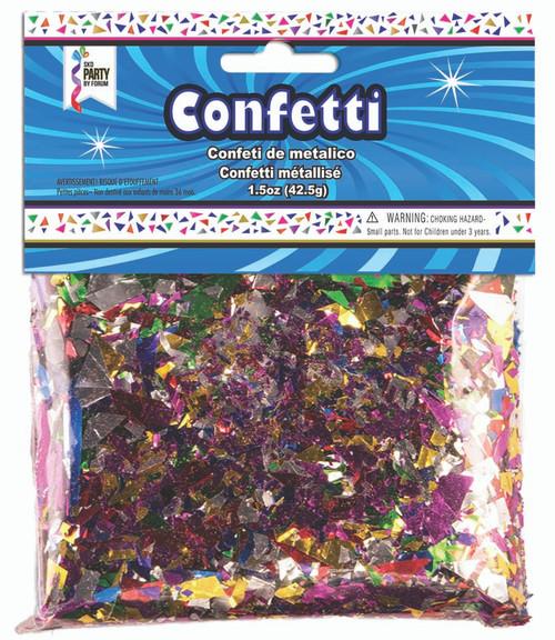 1.5 oz Multi-Color Foil Confetti