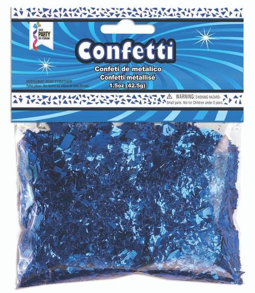 1.5 oz Royal Blue Foil Confetti