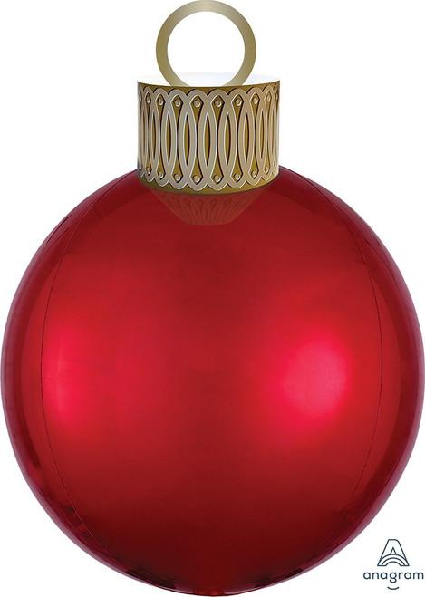 "20"" Ornament Kit Red Orbz - AIR FILL"