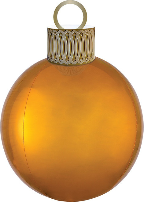 "20"" Ornament Kit Gold Orbz - AIR FILL"