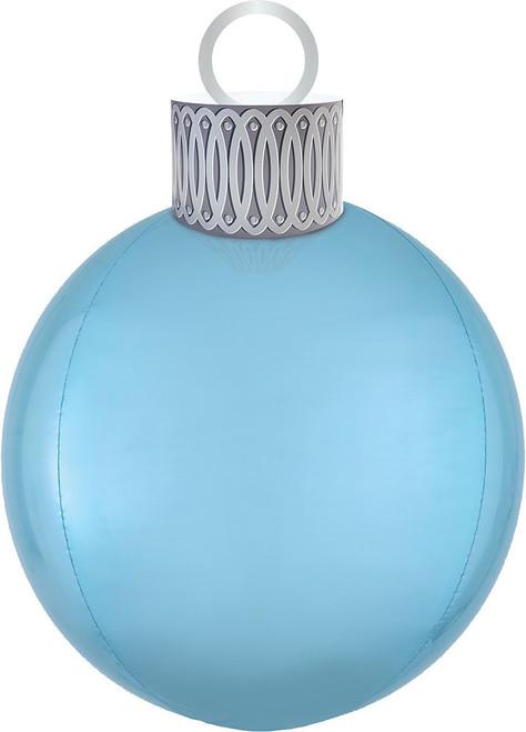 "20"" Ornament Kit Light Blue Orbz - AIR FILL"
