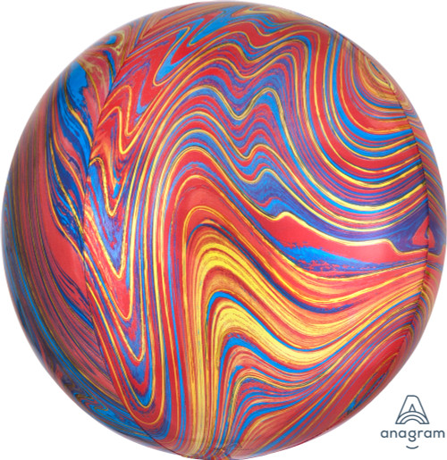 """16"""" Colorful Marblez"""