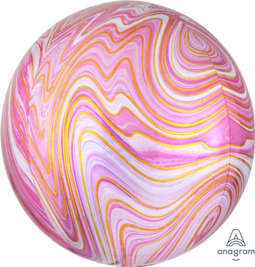 """16"""" Pink Marblez"""