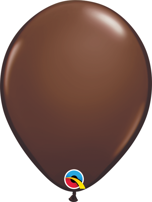 "11"" Qualatex Chocolate Brown - 100 Ct."