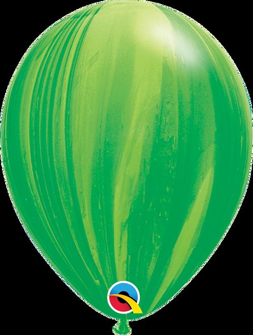 "11"" Qualatex Superagate Green - 25 Ct."