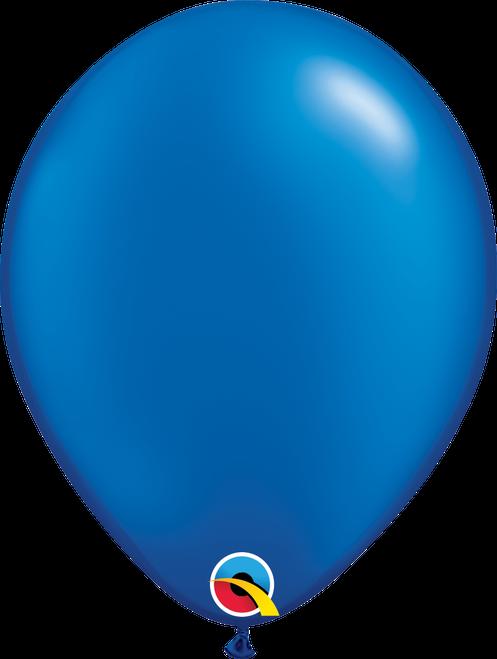 "11"" Qualatex Pearl Sapphire Blue - 100 Ct."