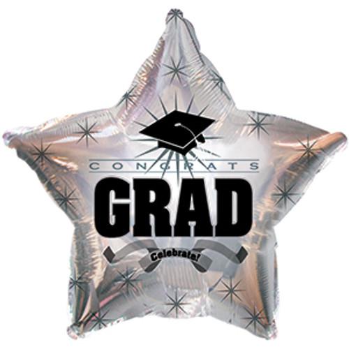 """17"""" Congrats Grad Platinum"""