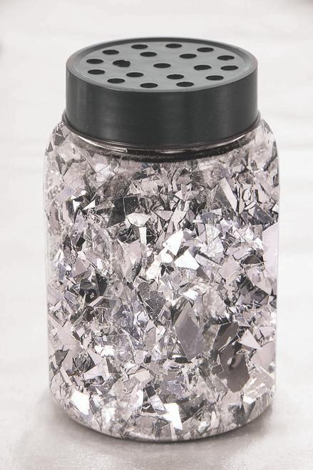 Metallic Foil Confetti 80 g - Silver