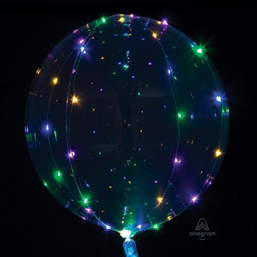 """18"""" Crystal Clearz with Multicolor Lights"""