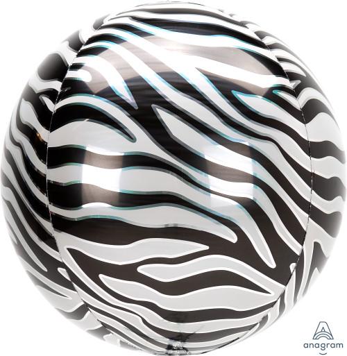 """16"""" Zebra Orbz"""