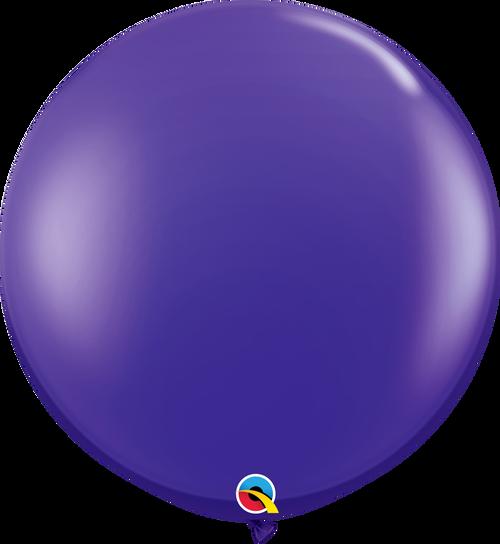 "36"" Quartz Purple Latex Balloons 2 ct"
