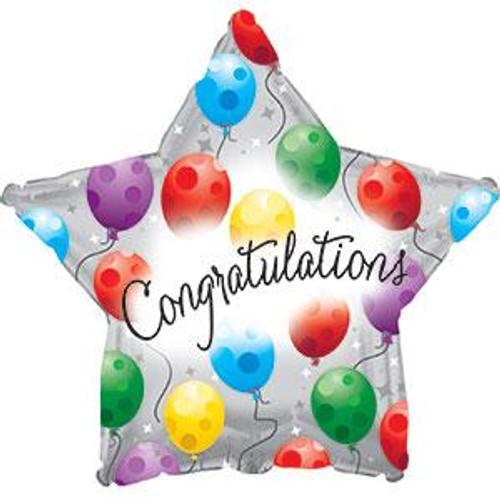 "18"" Congratulations Twinkling"