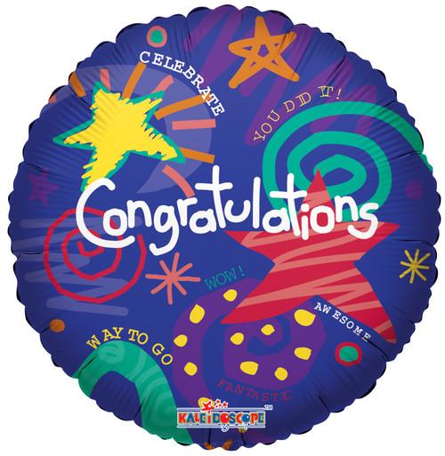 """18"""" Congrats Festive"""