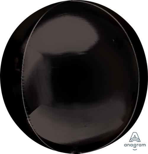 "16"" Black Orbz - 3 ct"