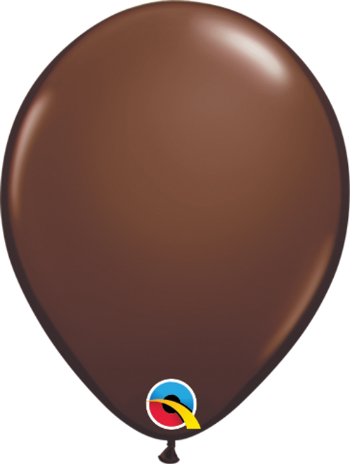 "5"" Qualatex Chocolate Brown - 100 Ct."