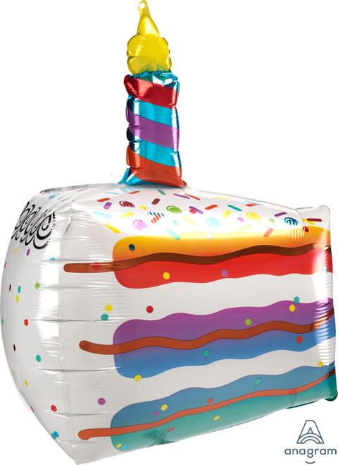 """25"""" Cake Slice"""