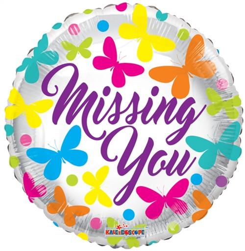"18"" Missing You Butterflies"