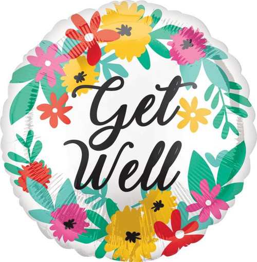 """18"""" Floral Get Well"""
