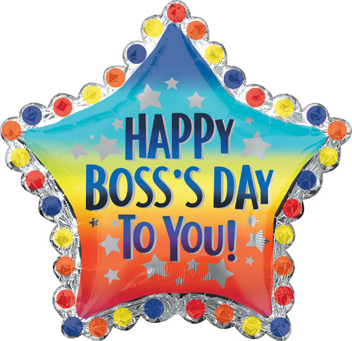 """30"""" Happy Boss Day to You"""