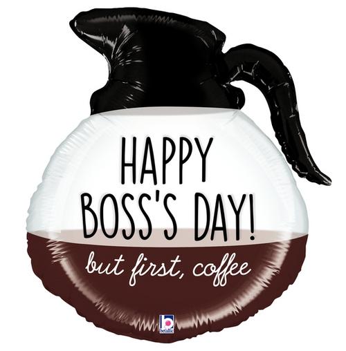 "26"" Boss Day Coffee Pot"