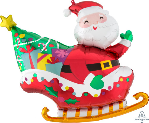"30"" Santa's Sleigh"