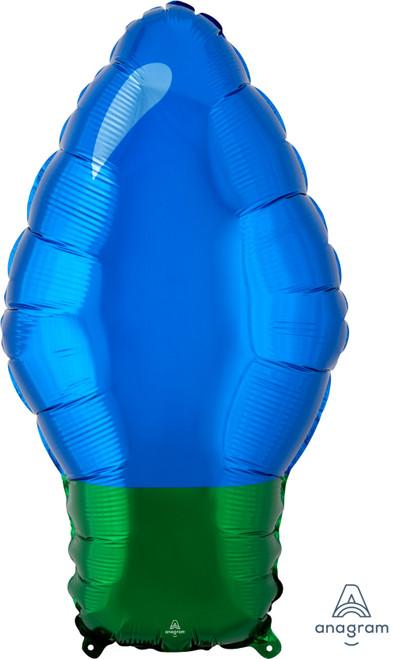"22"" Blue Christmas Light Bulb"