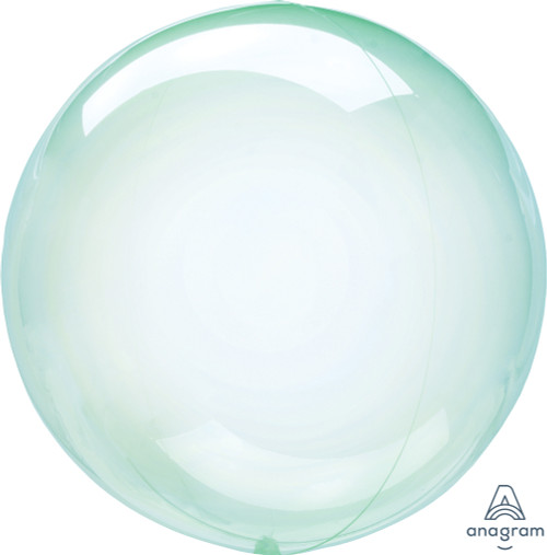 "10"" Green Crystal Clearz Petite 1 Ct."