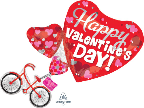 "NEW ARRIVAL! 30"" Happy Valentine's Day Bike"