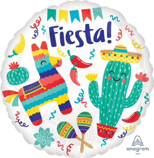 """18"""" Fiesta Party - Flat"""