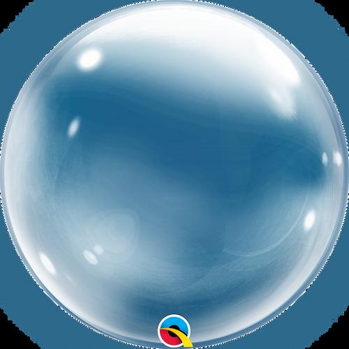 "24"" Deco Bubble Balloon Clear"