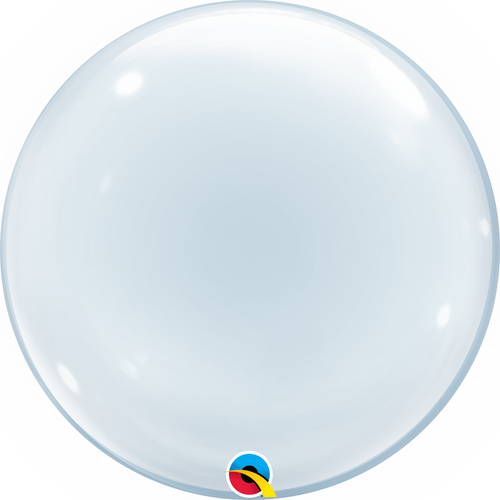 "20"" Deco Bubble Balloon Clear"