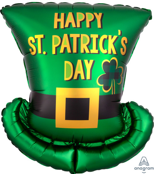 "24"" St. Pat's Day Top Hat"