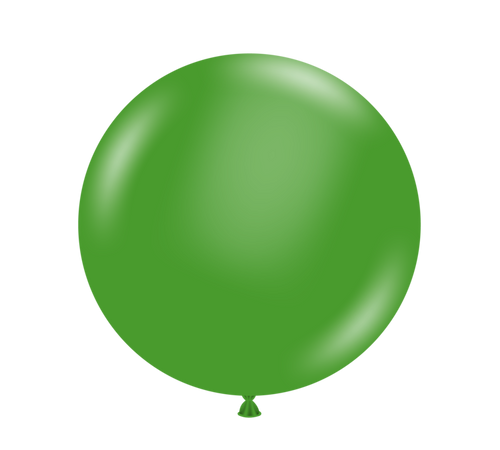 "11"" Tuftex Green - 100 Ct."