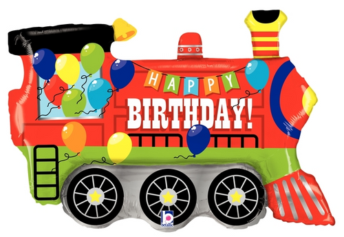 "37"" Birthday Party Train"