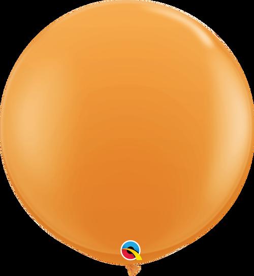 "36"" Qualatex Orange Latex Balloons - 2 Ct."