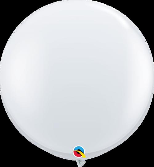 "36"" Qualatex Diamond Clear Latex Balloons - 2 Ct."