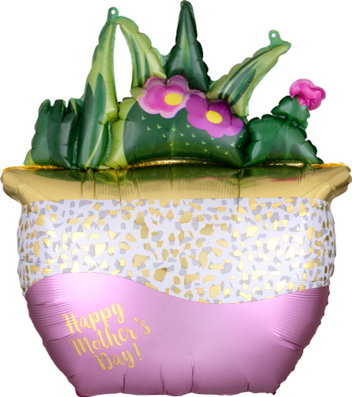 "26"" Happy Mother's Day Satin Succulents"