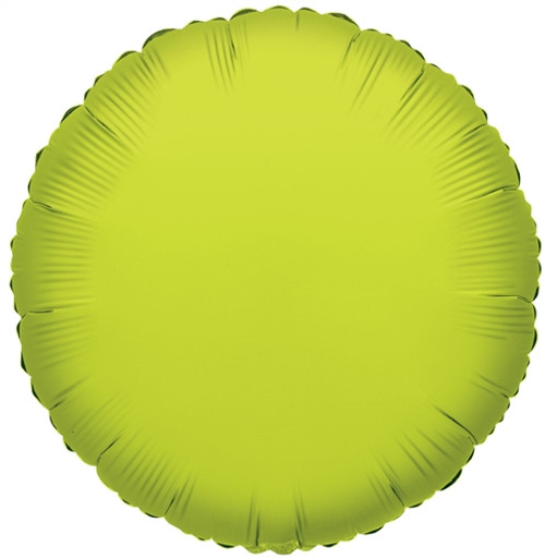 """18"""" Lime Green Round"""