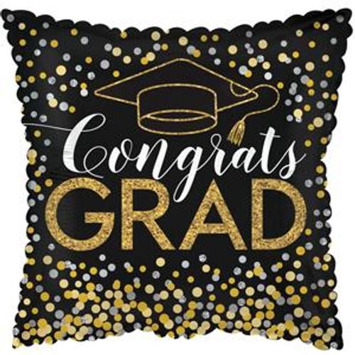 """17"""" Congrats Grad Glitter Confetti"""