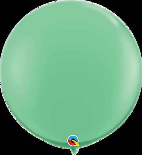 "36"" Qualatex Wintergreen Latex Balloons - 2 Ct."
