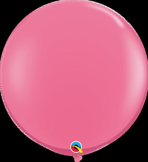 "36"" Qualatex Rose Latex Balloons - 2 Ct."