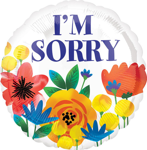 """18"""" I'm Sorry Floral"""