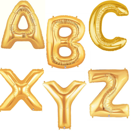 """40"""" Gold Letters"""